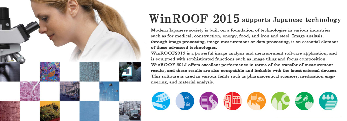 WinROOFが支えている日本の技術(英語)