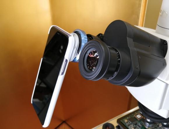 新時代到来!iPhoneを顕微鏡カメラとして使ってみました!